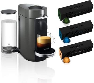 Nespresso VertuoPlus Deluxe Coffee/Espresso Maker + 30 Capsule Pack $189.99 at woot