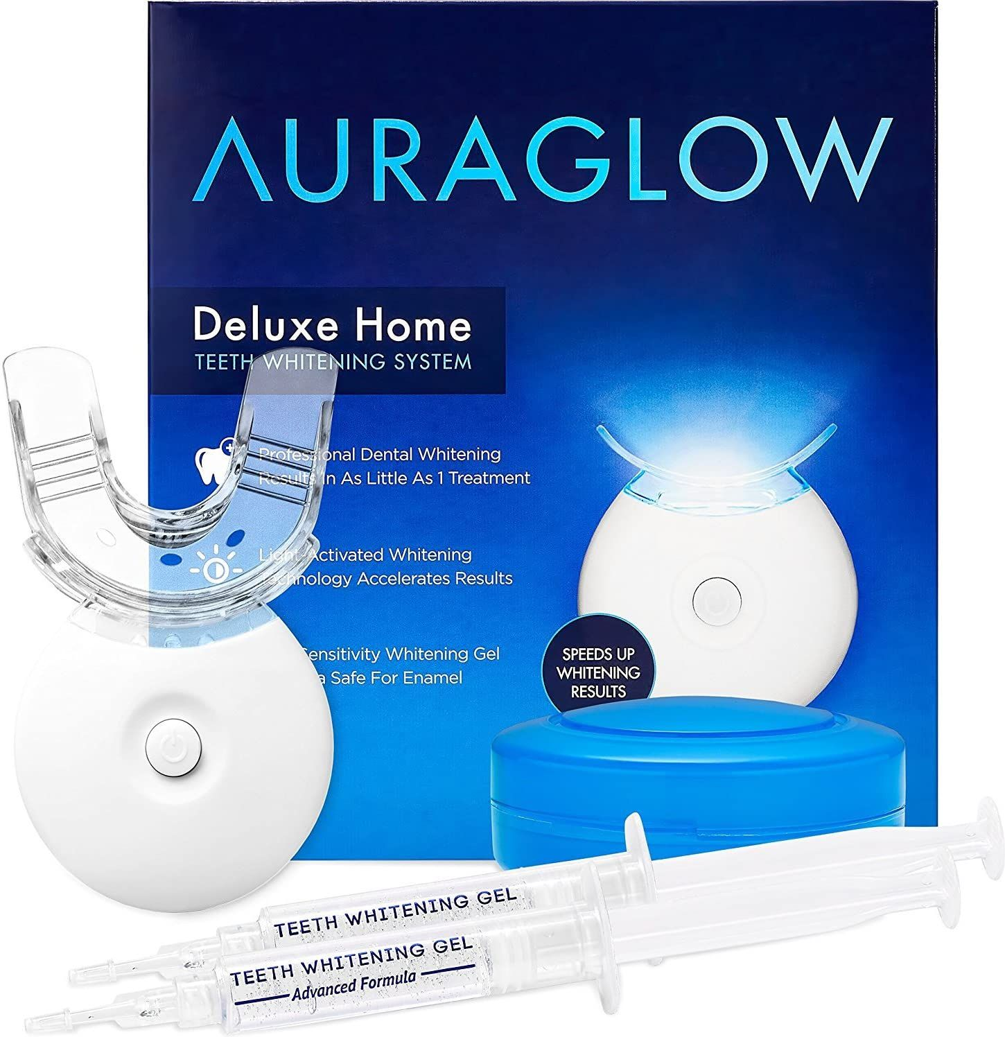 Up to 50% off AuraGlow Teeth Whitening Products at Amazon